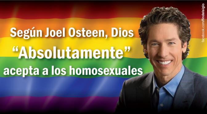 Joel Osteen y su aceptación de la homosexualidad