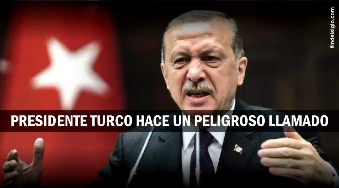¿Está el presidente de Turquía está llamando a la guerra santa musulmana contra Israel?