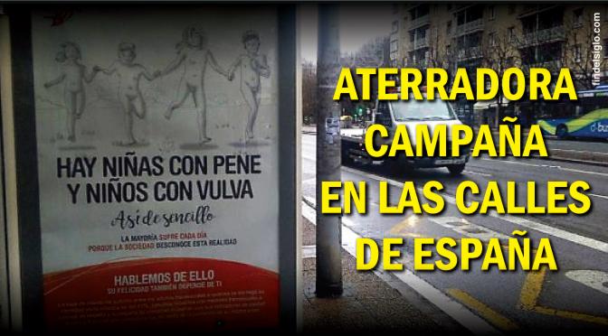 [España] Campaña fomentando transexualidad en niños