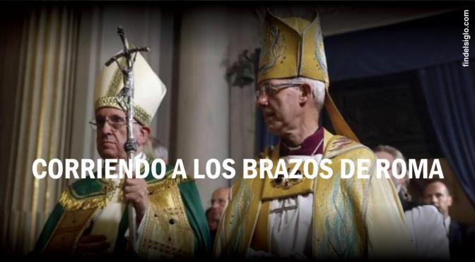 Arzobispo de Canterbury y el papa Francisco celebran 50 años de 'diálogo'