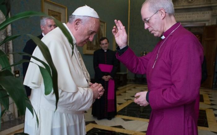 francisco-y-arzobispo-canterbury