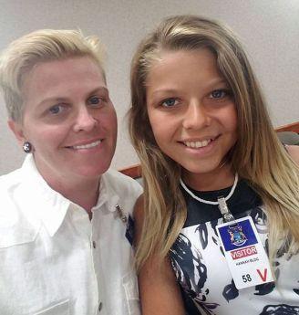 Padre e hija, hoy