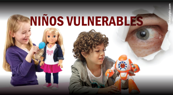 Peligrosas fallas de seguridad en juguetes conectados a internet