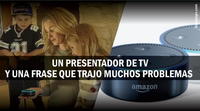 'Alexa' el dispositivo de voz de Amazon y una historia que muestra la vulnerabilidad de estos aparatos