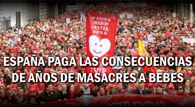 Siete estragos tras 30 años de aborto legal en España