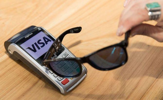 Visa-Lentes sol-NFC