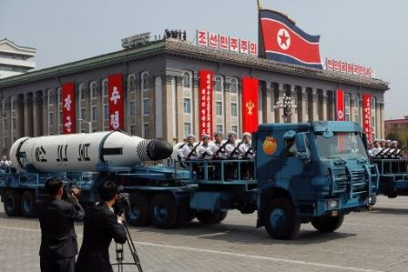 Corea del Norte desfile militar 2017 2