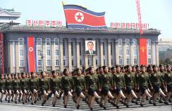 Corea del Norte desfile militar 2017 3