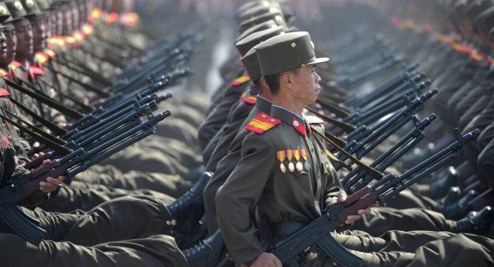 Corea del Norte desfile militar 2017 7