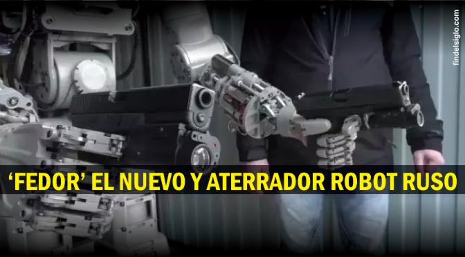 Conducir y disparar, el nuevo robot ruso lo hace sin problemas