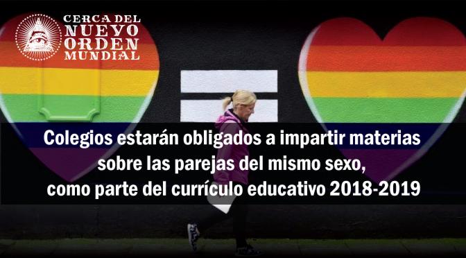 Profesores británicos piden promover entre los niños -a partir de dos años- el estilo de vida gay