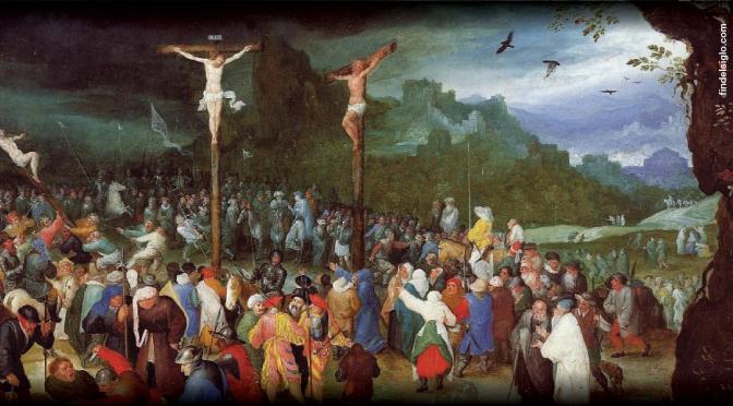 La Pascua, orden de acontecimientos (3): Crucifixión de Jesús