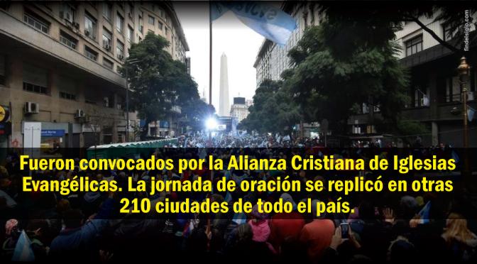 [Argentina] Miles de personas se reúnen alrededor del país para orar