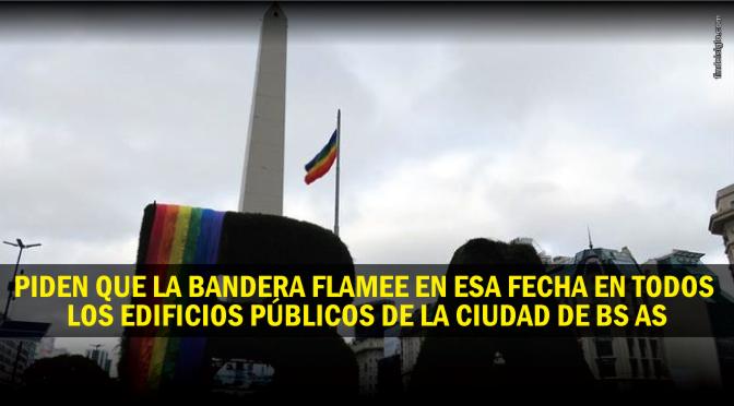 [Argentina] Piden izar la bandera gay en escuelas y comisarías los 17 de mayo