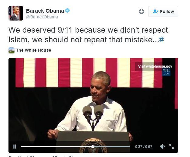 Obama 9-11
