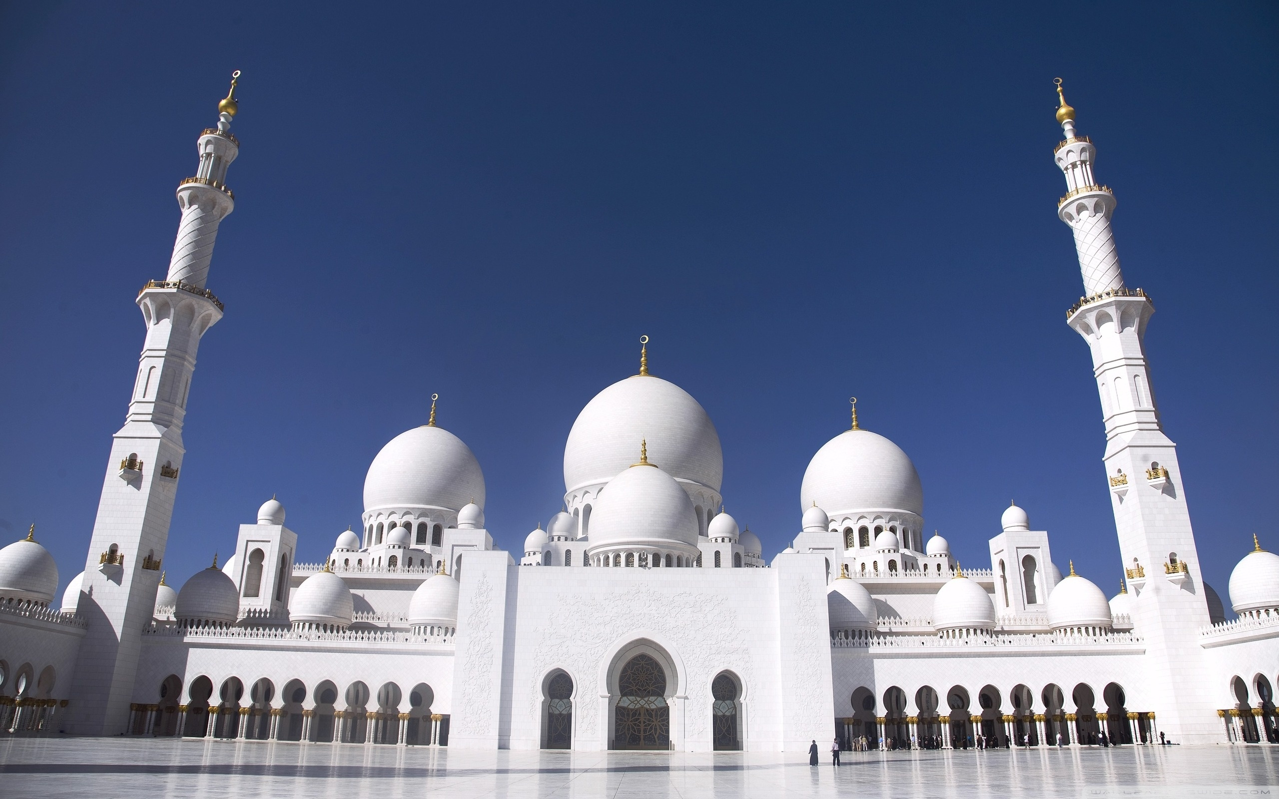 Abu Dhabi mezquita