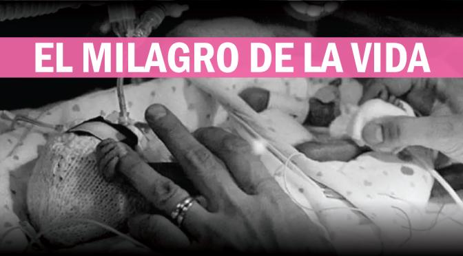 [España] La bebé del milagro: pesó 700 gramos al nacer y fue dada de alta sin ninguna secuela