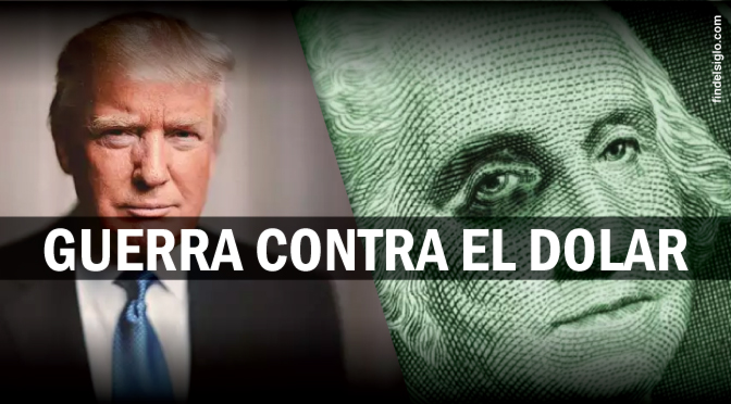 Soros podría destruir el dólar de EE.UU. gracias a su guerra mediática contra Trump
