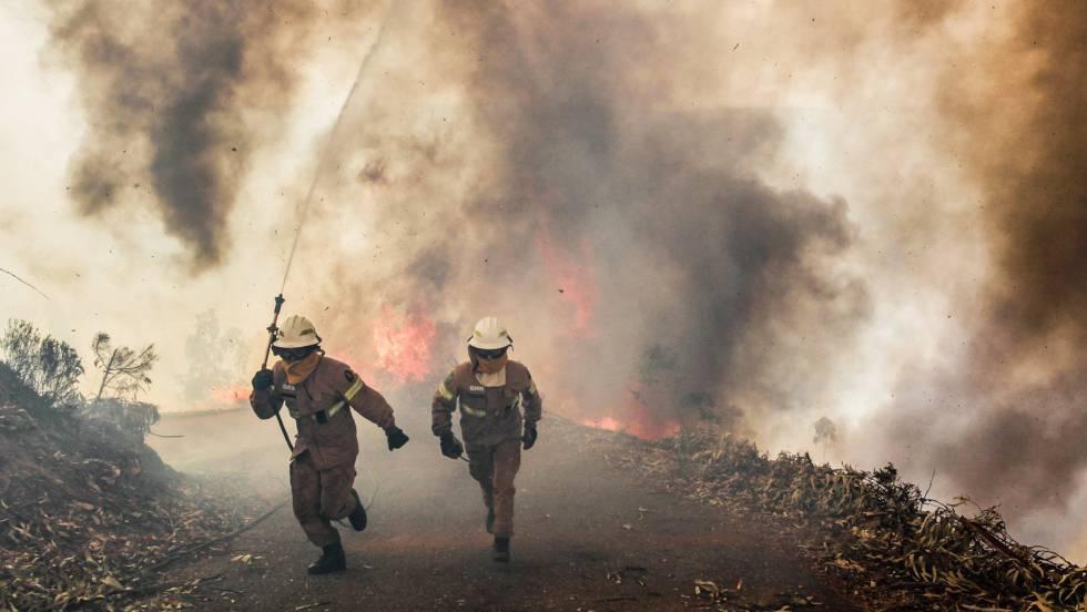Portugal incendio