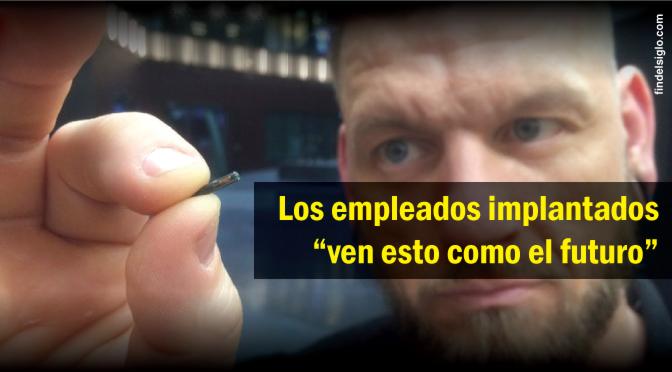 [EE.UU.] Empresa comienza a implantar microchips a empleados