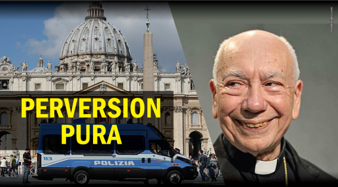 [Vaticano] La Policía irrumpe en una orgía gay con drogas en el apartamento de un sacerdote
