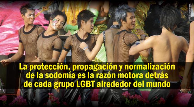 Sodomía: el pegamento que mantiene unido al movimiento LGBT
