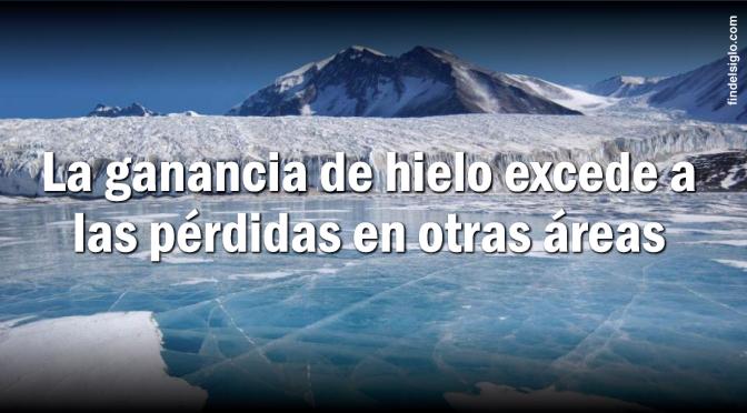 ¿Calentamiento global?… La NASA dice que la Antártida ¡está ganando hielo!