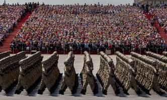 Armada china marchando