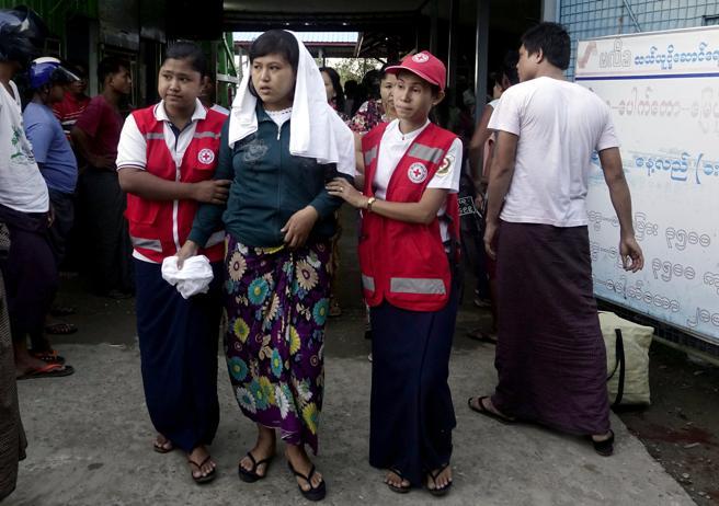 birmania atentados