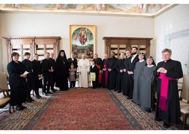 Delegacion finlandesa en el Vaticano