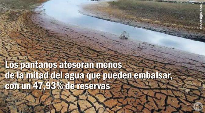 [España] hacia la peor sequía en 20 años