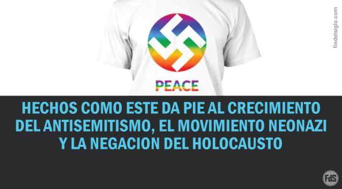 Marca de ropa promueve la esvástica como un símbolo de paz