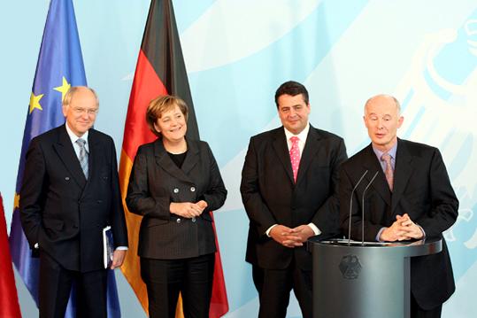 John Schellnhuber ministros europeos