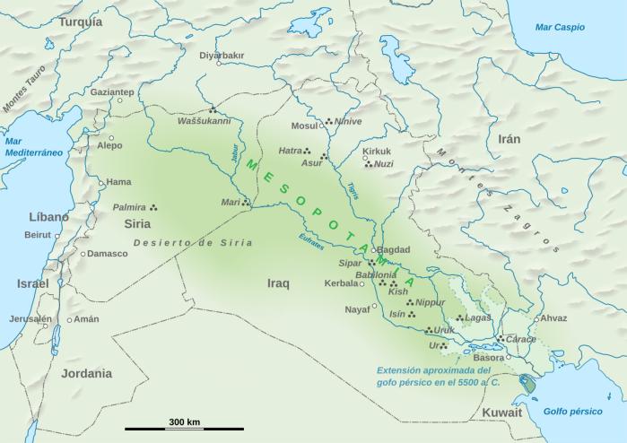rio eufrates cauce