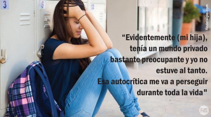 [Argentina] La madre de la chica que se suicidó en el colegio reconoció el peligro de no prestar atención a los hijos
