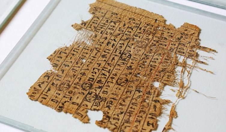 papiro piramides