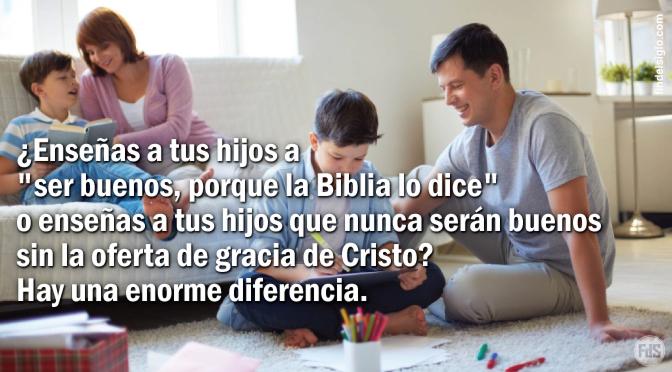 CÓMO CRIAR A UN NIÑO PAGANO EN UN HOGAR CRISTIANO