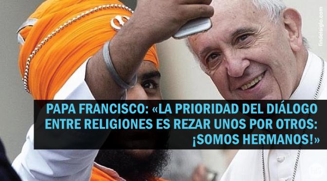 [2015] Católicos, judíos, musulmanes, budistas, hindúes, jainistas y sijs juntos en el Vaticano