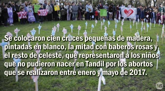 [Argentina] Vecinos se manifestaron contra los abortos y por el cierre del servicio del Hospital que los autoriza