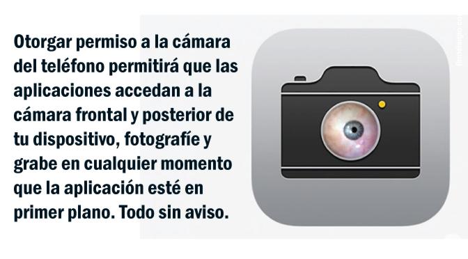 Googler demuestra que cualquier aplicación de iPhone con permiso de cámara puede grabarte en secreto