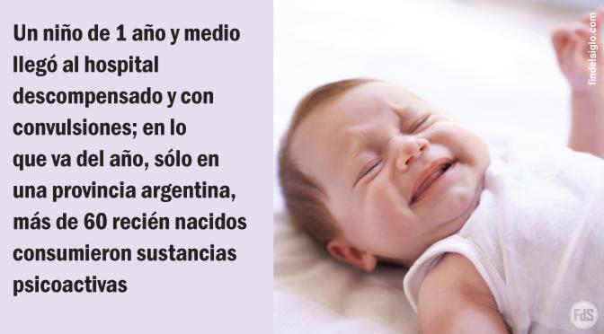 [Argentina] Más casos de bebés intoxicados con cocaína