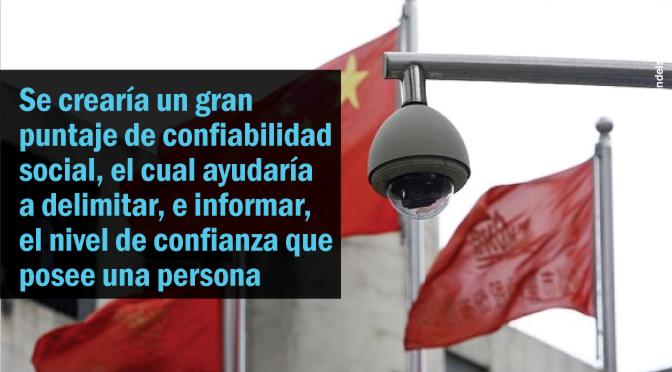[China] Se implementará un sistema de puntaje ciudadano basado en la confiabilidad