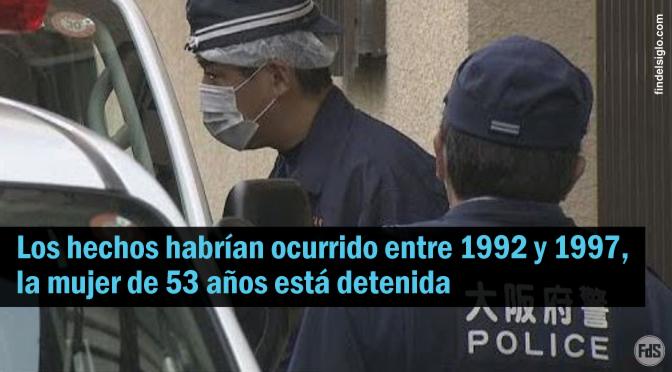 [Japón] ESPANTO: Mujer confesó haber sepultado a cuatro bebés en baldes de cemento