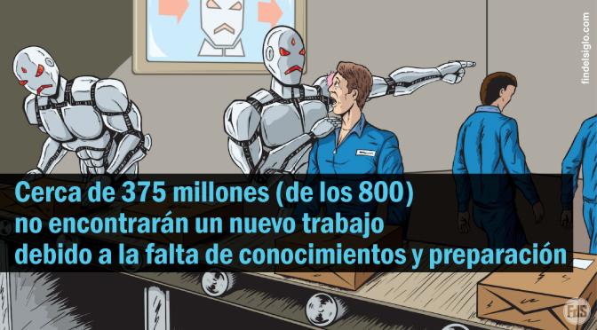 La automatización reemplazará hasta 800 millones de puestos de trabajo en 2030