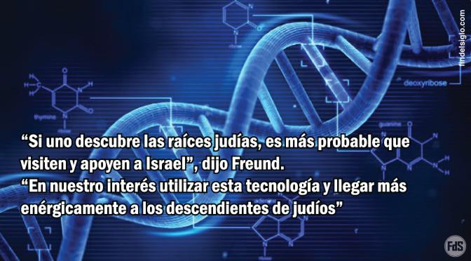 ADN podría ser usado para ayudar a los descendientes de judíos a retornar al pueblo de Israel