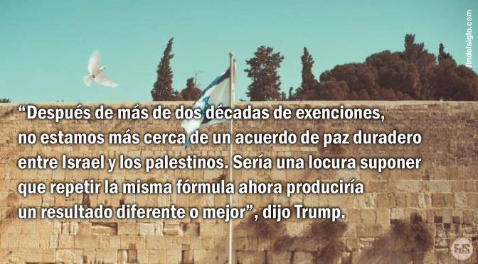 Estados Unidos reconoce a Jerusalén como la capital de Israel