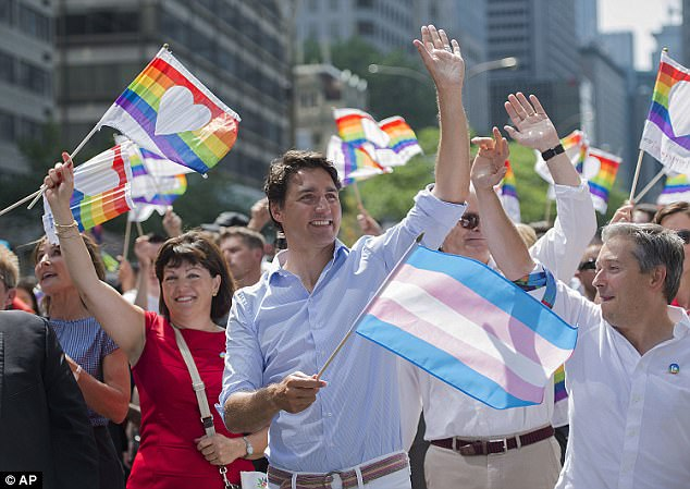TRUDEAU GAY PARADE