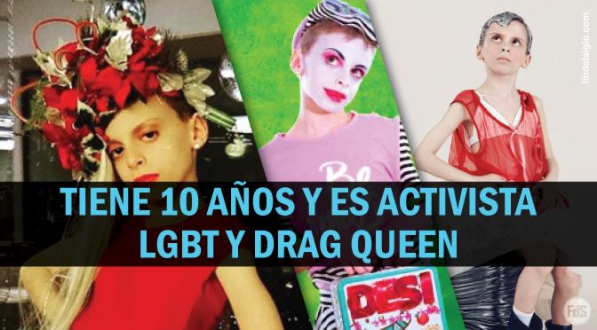 El movimiento LGBT se enfoca en los niños, con drag clubs y partes del cuerpo falsas