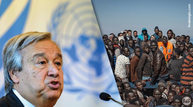 El nuevo jefe de las Naciones Unidas presenta un plan para promover la migración masiva global