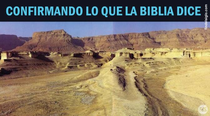 El descubrimiento de Sodoma y Gomorra